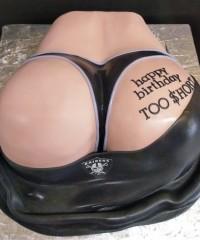 Butt Theme Cakes